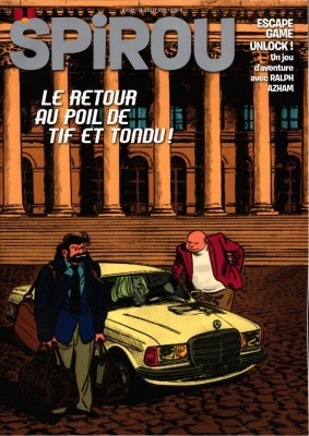 "Afficher ""Spirou n° 4241 Spirou - 24 juillet 2019 - 30 juillet 2019"""