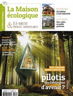 """Afficher """"La Maison écologique n° 112 La Maison écologique - Août - Septembre 2019"""""""
