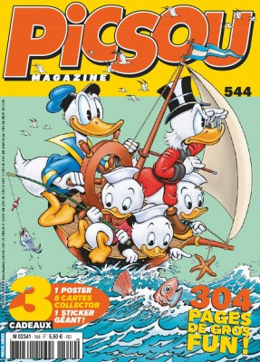 "Afficher ""Picsou magazine n° 544 Picsou magazine - août 2019"""