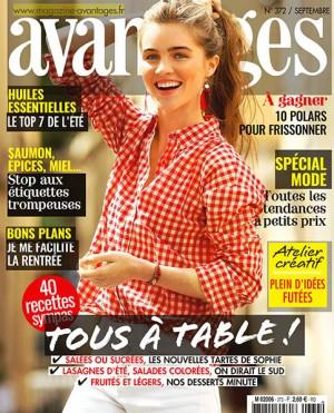 """Afficher """"Avantages n° 372 Avantages - Septembre 2019"""""""