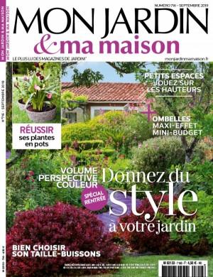 """Afficher """"Mon Jardin et ma Maison n° 716 Mon Jardin et ma Maison - Septembre 2019"""""""