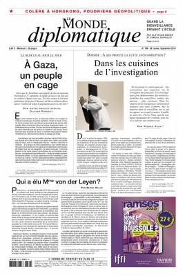 """Afficher """"Le Monde diplomatique n° 786 Le Monde diplomatique - septembre 2019"""""""