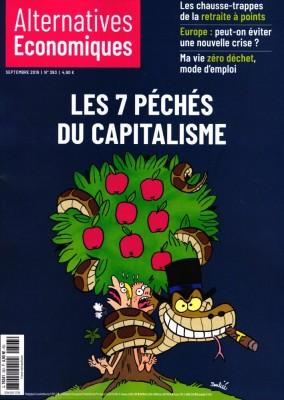 """Afficher """"ALTERNATIVES ECONOMIQUES n° 393 Les 7 péchés du capitalisme"""""""