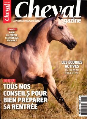 "Afficher ""Cheval magazine n° 574 Cheval magazine - septembre 2019"""