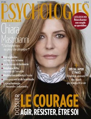 """Afficher """"Psychologies magazine n° 402 LE COURAGE agir, résister, être soi"""""""