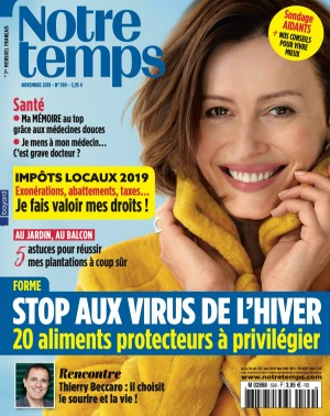 """Afficher """"Notre temps n° 599 Notre temps - novembre 2019"""""""