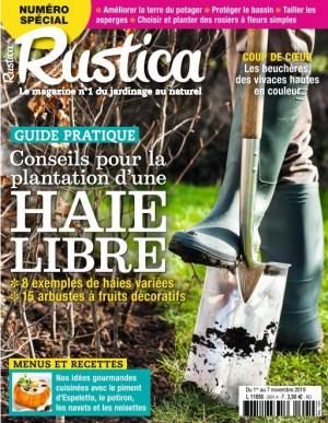 "Afficher ""RUSTICA n° 2601 RUSTICA - 01 novembre 2019 - 07 novembre 2019"""