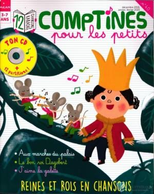"Afficher ""Toupie n° 40 Toupie Chansons 12 comptines reines et rois en chansons"""