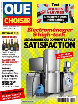 """Afficher """"Que Choisir n° 586 Que Choisir - décembre 2019"""""""