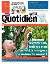 """Afficher """"Mon Quotidien n° 6976 Mon Quotidien - jeudi 21 novembre 2019"""""""