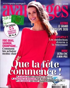 """Afficher """"Avantages n° 376 Avantages - janvier 2020"""""""