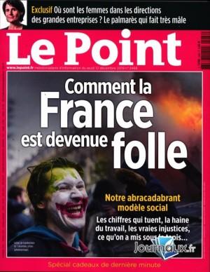 """Afficher """"Le Point n° 2468 Le Point - 13 décembre 2019 - 19 décembre 2019"""""""