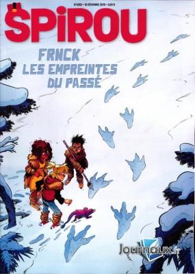 Couverture de Spirou n° 4262 Spirou - 18 décembre 2019 - 24 décembre 2019