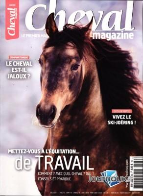 """Afficher """"CHEVAL MAGAZINE n° 578 CHEVAL MAGAZINE - janvier 2020"""""""