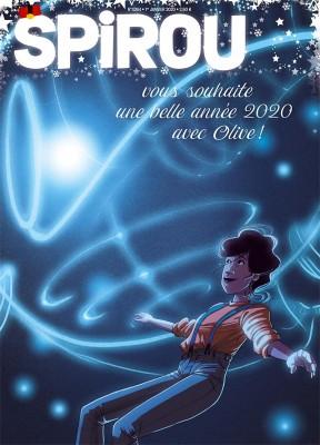 """Afficher """"Spirou n° 4264 Spirou - 01 janvier 2020 - 07 janvier 2020"""""""