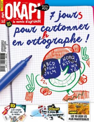 """Afficher """"OKAPI n° 1104 7 jours pour cartonner en orthographe !"""""""