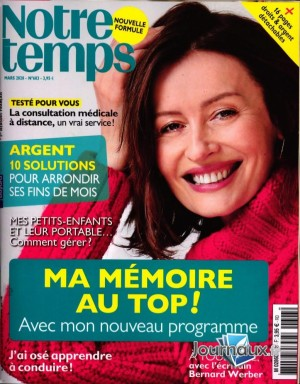 """Afficher """"Notre temps n° 603"""""""