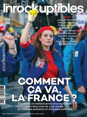"Afficher ""Les inrockuptibles n° 2020<br /> Comment ça va, la France?"""