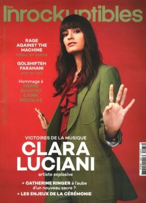 "Afficher ""Les inrockuptibles n° 2020<br /> Clara Luciani"""