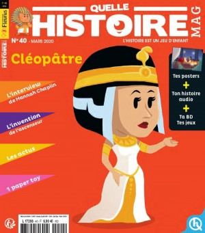 """Afficher """"Quelle histoire mag n° 40"""""""