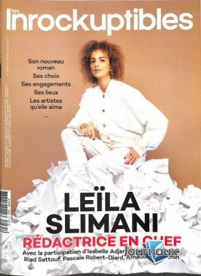 """Afficher """"Les inrockuptibles n° 2020<br /> Leïla Slimani"""""""
