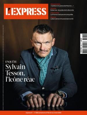 "Afficher ""L'Express n° 2020<br /> Sylvain Tesson, l'icône réac"""