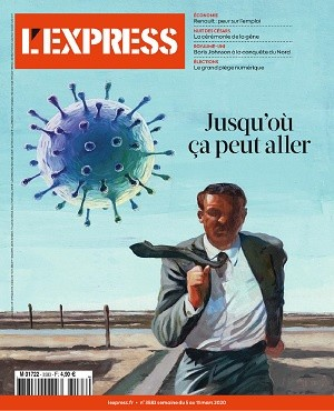 "Afficher ""L'Express n° 2020<br /> Jusqu'où ça peut aller"""