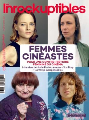 """Afficher """"Les Inrockuptibles n° 1267 Les Inrockuptibles - Femmes cinéastes - 11 mars 2020 - 17 mars 2020"""""""