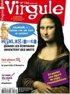 """Afficher """"Virgule n° 182 Virgule - Néoligismes - mars 2020"""""""