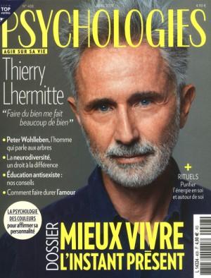 """Afficher """"Psychologies Magazine n° 2020<br /> Mieux vivre l'instant présent"""""""