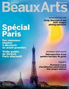 """Afficher """"Beaux Arts Magazine n° 430 Beaux Arts Magazine - avril 2020 Spécial Paris"""""""