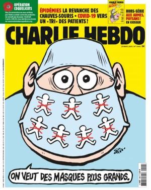 "Afficher ""Charlie Hebdo n° 1444 Charlie Hebdo - 25 mars 2020 - 31 mars 2020"""