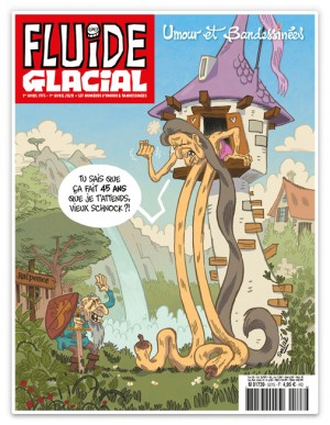 "Afficher ""Fluide Glacial n° 2020<br /> Umour et bandessinées"""