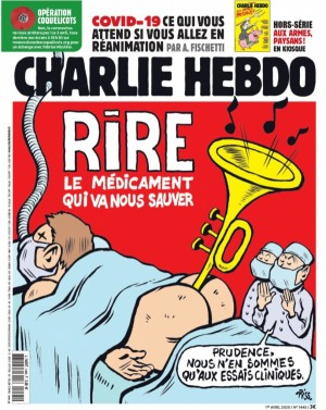 "Afficher ""Charlie Hebdo n° 1445 Charlie Hebdo - 01 avril 2020 - 07 avril 2020"""
