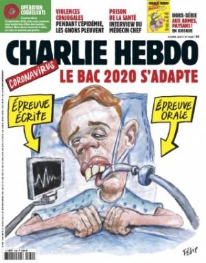 "Afficher ""Charlie Hebdo n° 1446 Charlie Hebdo - 08 avril 2020 - 14 avril 2020"""