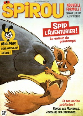 "Afficher ""Spirou n° 4277 Spirou - 01 avril 2020 - 07 avril 2020"""