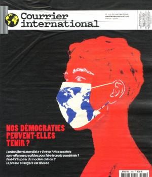 "Afficher ""Courrier International n° 1535 Nos démocraties peuvent-elles tenir ?"""