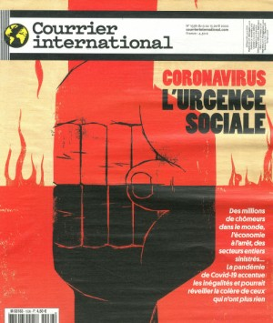 "Afficher ""Courrier International n° 1536 Coronavirus, l'urgence sociale"""
