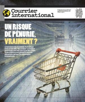 """Afficher """"Courrier International n° 1537 Un risque de pénurie, vraiment ?"""""""