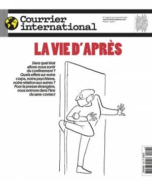 """Afficher """"Courrier International n° 1538 La vie d'après"""""""