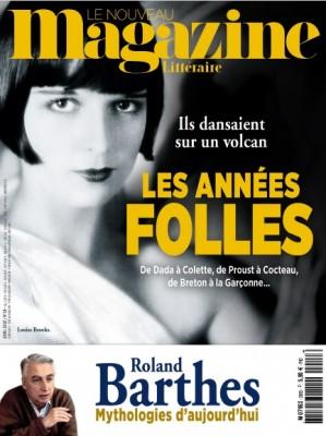 """Afficher """"Le nouveau magazine littéraire n° 28 Le nouveau magazine littéraire - avril 2020 // Les années folles"""""""