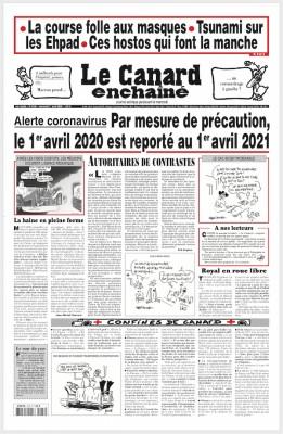 "Afficher ""le Canard enchaîné n° 5186 le Canard enchaîné - 1er avril 2020"""