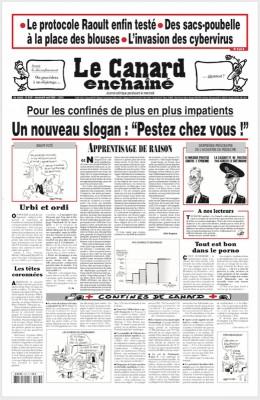 "Afficher ""le Canard enchaîné n° 5187 le Canard enchaîné - 8 avril 2020"""