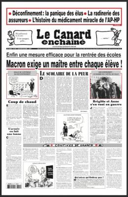"""Afficher """"le Canard enchaîné n° 5191 le Canard enchaîné - 6 mai 2020"""""""