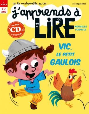 """Afficher """"J'apprends à lire n° 2020<br /> Vic, le petit gaulois"""""""