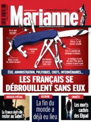 "Afficher ""Marianne n° 1209 Marianne - 15 mai 2020 - 21 mai 2020"""