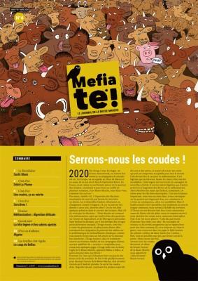 """Afficher """"Mefia Te* n° 2020<br /> Serrons nous les coudes!"""""""