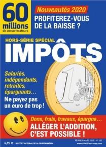 """Afficher """"60 millions de consommateurs n° 2020<br /> Impôts"""""""