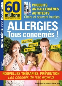 """Afficher """"60 millions de consommateurs n° 2020<br /> Allergies. Tous concernés !"""""""