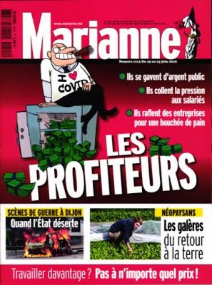 """Afficher """"Marianne n° 1214 Marianne - 21 juin 2020 - 27 juin 2020"""""""